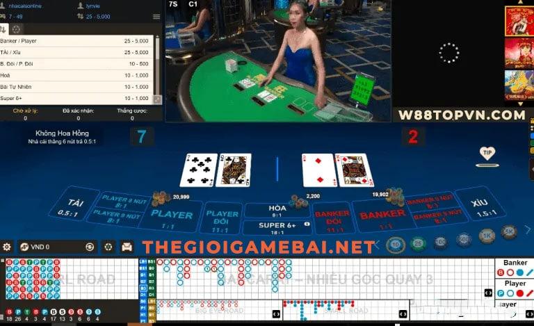 baccarat, chơi baccarat, cách chơi baccarat, baccarat online, w88, baccarat w88, sòng bạc quốc tế, sòng bài,